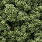 WFC145 Woodland Scenics: Bushes - Light Green (18 cu. in. bag)